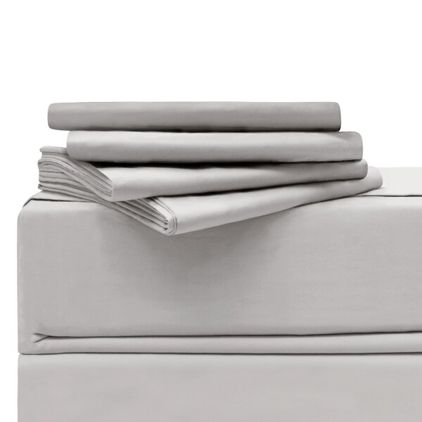 Luxury 6 Piece 620 Thread Count 100% Cotton Sheet Set by Simply the Best